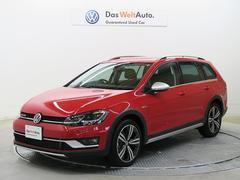 VW ゴルフオールトラックTSI 4モーション Tech PKG 認定中古車