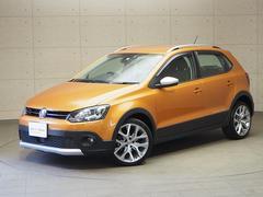 VW ポロクロスポロ キセノンヘッドライト 認定中古車 保証付き