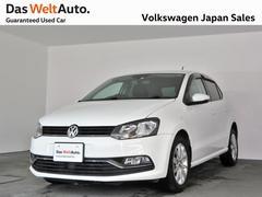 VW ポロコンフォートライン アップグレードPKG 純正ナビ ACC