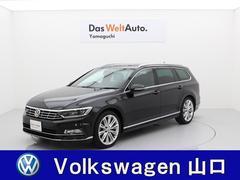 VW パサートヴァリアントRライン スライディングルーフ レザーシート 地デジナビ