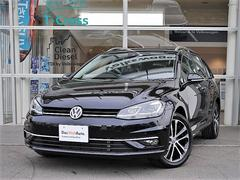 VW ゴルフヴァリアントTSI CL Meister登録済未使用車・デジタルメーター
