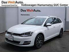 VW ゴルフヴァリアントHL コネクト 1オーナー 禁煙車 純正ナビ バックカメラ