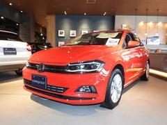 VW ポロTSI ハイライン セーフティーP 純正ナビ 認定中古車
