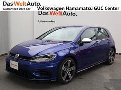 VW ゴルフR登録済未使用車 純正ナビ バックカメラ ETC 認定中古車