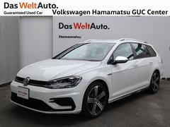 VW ゴルフRヴァリアント登録済未使用車 純正ナビ バックカメラ ETC 認定中古車