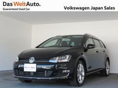 VW ゴルフヴァリアントTSIハイラインBMT1オーナ禁煙ナビBカメラ認定中古車