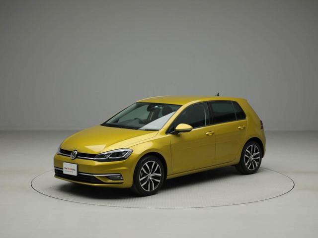 フォルクスワーゲン ゴルフ TSIハイライン テックエディション 特別仕様車 デモカー 認定中古車 デジタルメーター