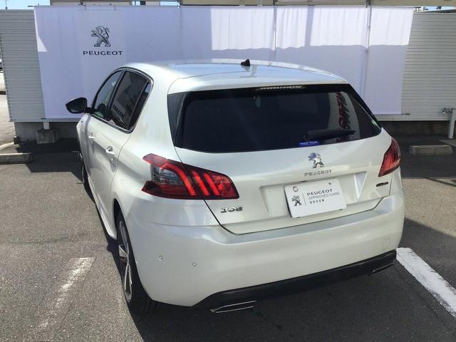 GTライン ブルーHDi 特別仕様車 8速AT 元試乗車(10枚目)