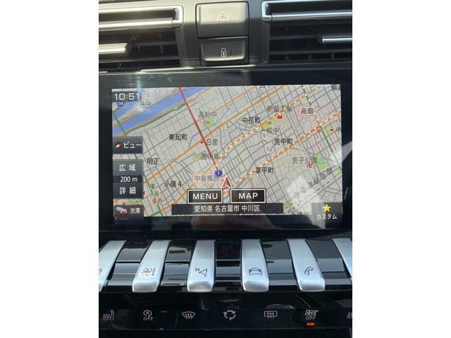 GT ブルーHDi プレミアムレザーエディション 新車保証継承/8AT/純正ナビ付/ETC2.0付き/フルレザーシート/電動シート付き/カープレイ対応/ACC(10枚目)