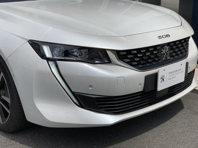 GT ブルーHDi プレミアムレザーエディション 新車保証継承/8AT/純正ナビ付/ETC2.0付き/フルレザーシート/電動シート付き/カープレイ対応/ACC(14枚目)