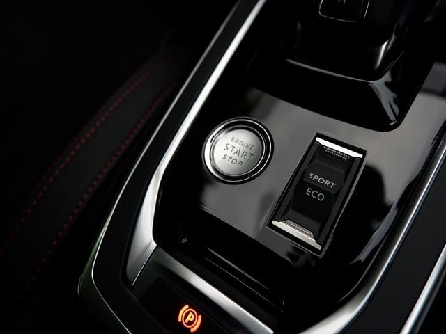 エコモード/スポーツモード。エコモードでは、アクセルオフ時にクラッチを切るフリーホイール制御を備え、優れた燃費をもたらします。【プジョー大府:0562-44-0381】
