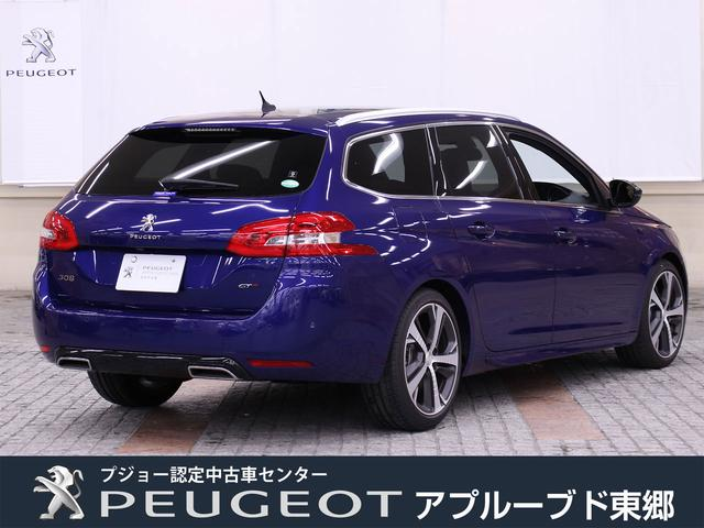 SW GT ブルーHDi 元試乗車 新車保証継承 8AT(5枚目)