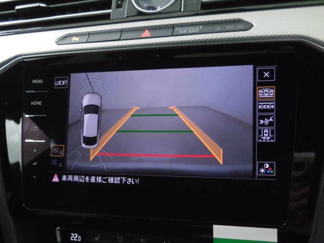 TSI 4モーション Rライン 認定中古車 キーレスエントリー 盗難防止システム 記録簿 4WD サイドエアバッグ ナビ バックモニター ステアリングスイッチ(7枚目)