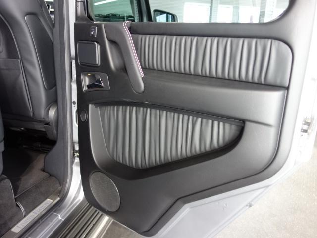 G550 デジーノマグノエディション 黒本革仕様(17枚目)