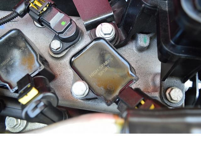 コンペティツィオーネ G-TECHインタークーラー・スピリット車高調・リアスポイラー・ADVANホイール・K&Nエアクリーナー・2DINナビ・バックカメラ・ハイスパークイグニッションコイル・ETC(10枚目)