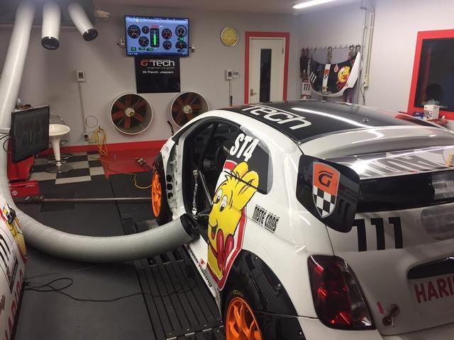 コンペティツィオーネ G-TECHインタークーラー・スピリット車高調・リアスポイラー・ADVANホイール・K&Nエアクリーナー・2DINナビ・バックカメラ・ハイスパークイグニッションコイル・ETC(25枚目)