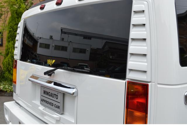 ハマー ハマー H2 ラグジュアリーパッケージ 新車並行 当社顧客様1オーナー