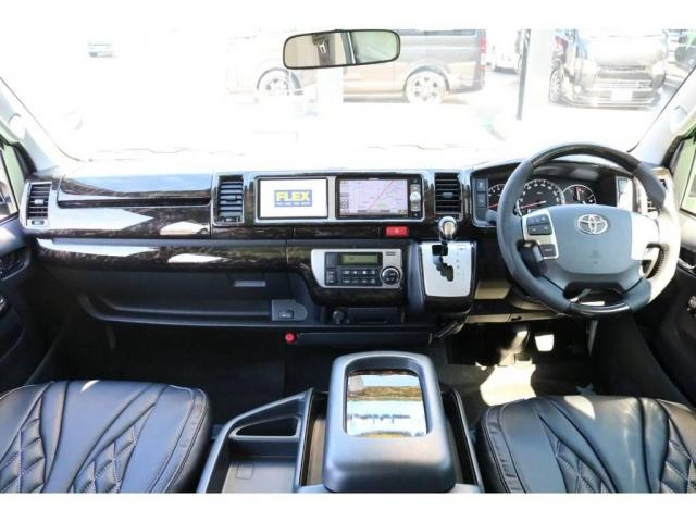トヨタ ハイエースワゴン 2.7 GL ロング ファインテックツアラー 4WD
