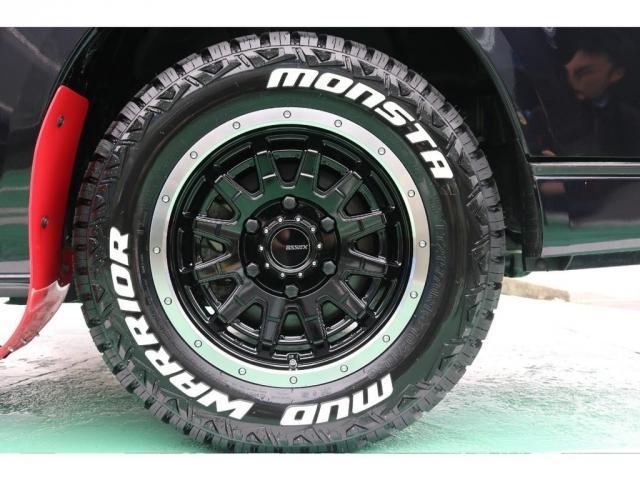 スーパーGLダークプライムTSS4WD新品タイヤベットキット(11枚目)