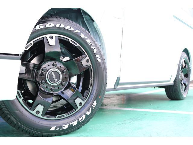 スーパーGL ダークプライムII ディーゼルターボ 4WD ライトカスタムPKG 17インチアルミ 社外ナビ サイドパイプ付き(46枚目)