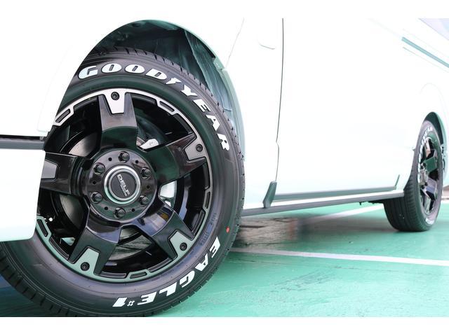 スーパーGL ダークプライムII ディーゼルターボ 4WD ライトカスタムPKG 17インチアルミ 社外ナビ サイドパイプ付き(47枚目)