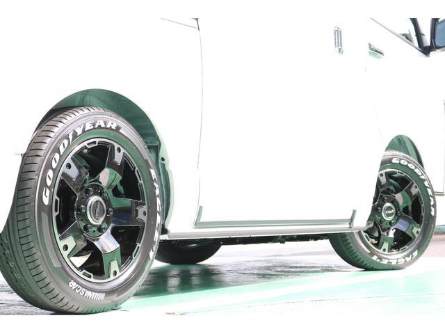 スーパーGL ダークプライムII ディーゼルターボ 4WD ライトカスタムPKG 17インチアルミ 社外ナビ サイドパイプ付き(70枚目)