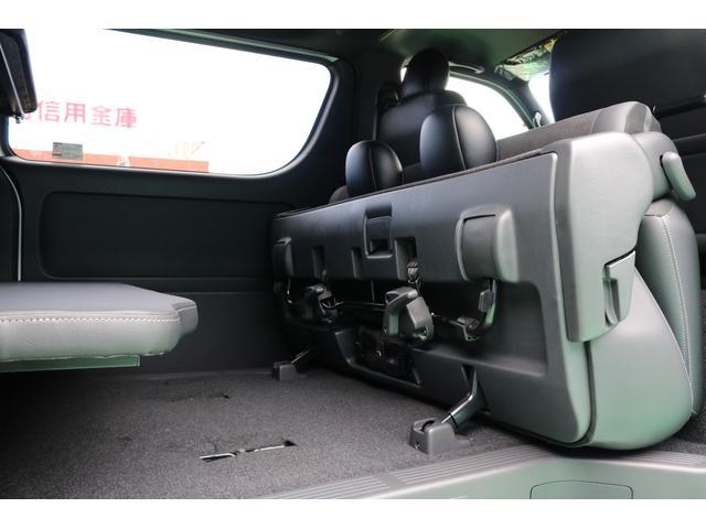 スーパーGL ダークプライムII 2段ベットキット車中泊仕様/ローダウン/17インチアルミ/フロントリップスポイラー付き(40枚目)