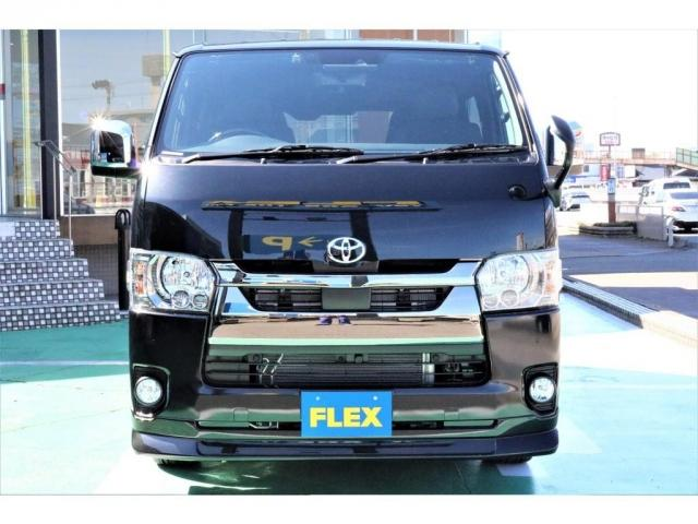 スーパーGL ダークプライムII FLEXCUSTOM/バイパーセキュリティ付/ベットキットタイプ2/フロントリップスポイラー/フルセグナビ/ETC/17インチFLEXORIGINALアルミ/ナスカータイヤ(6枚目)
