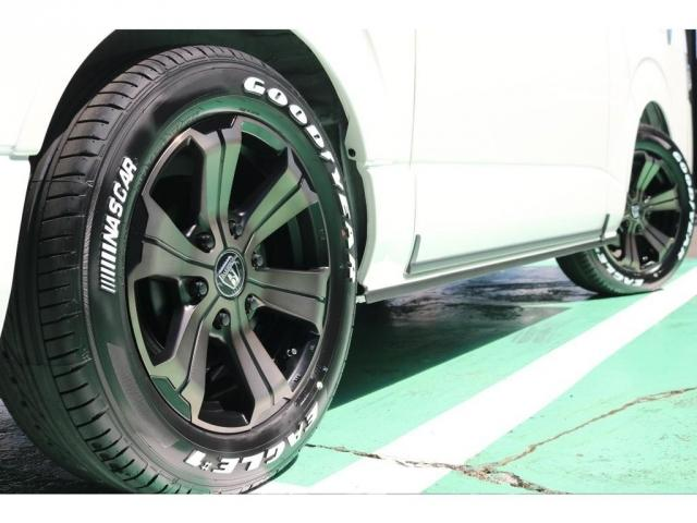 スーパーGL ダークプライムII ディーゼルターボ/4WD/パーキングサポート/1.15inchローダウンブロック/FLEXオリジナルバルベログランデ17AW/FLEXオリジナルスポイラ/7inchSDナビ/ETC/ガッツミラ同色塗装(4枚目)