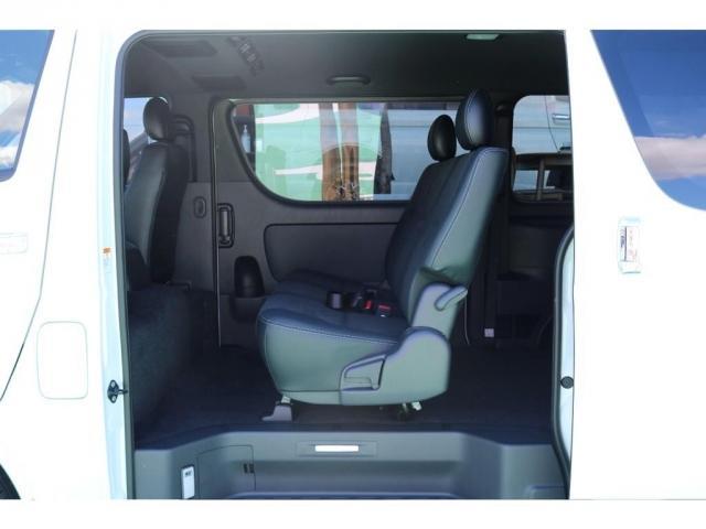 スーパーGL ダークプライムII ディーゼルターボ/4WD/パーキングサポート/1.15inchローダウンブロック/FLEXオリジナルバルベログランデ17AW/FLEXオリジナルスポイラ/7inchSDナビ/ETC/ガッツミラ同色塗装(16枚目)