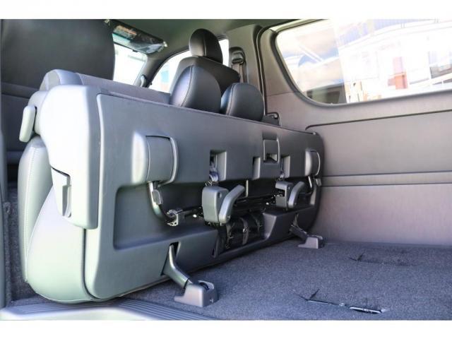 スーパーGL ダークプライムII ディーゼルターボ/4WD/パーキングサポート/1.15inchローダウンブロック/FLEXオリジナルバルベログランデ17AW/FLEXオリジナルスポイラ/7inchSDナビ/ETC/ガッツミラ同色塗装(19枚目)