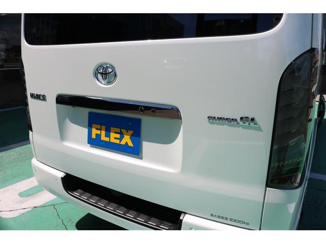 スーパーGL ダークプライムII ディーゼルターボ/4WD/パーキングサポート/1.15inchローダウンブロック/FLEXオリジナルバルベログランデ17AW/FLEXオリジナルスポイラ/7inchSDナビ/ETC/ガッツミラ同色塗装(48枚目)