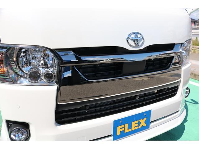 スーパーGL ダークプライムII ディーゼルターボ/4WD/パーキングサポート/1.15inchローダウンブロック/FLEXオリジナルバルベログランデ17AW/FLEXオリジナルスポイラ/7inchSDナビ/ETC/ガッツミラ同色塗装(70枚目)