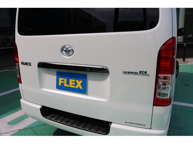 スーパーGL ダークプライムII 4WD/パーキングサポート/1.15インチエローダウンブロック/フレックスオリジナルデルフ0217AW/フレックスオリジナルフロントリップ/オーバーフェンダー/7インチフルセグSDナビ/ガッツミラ同色(53枚目)