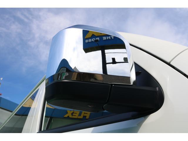 スーパーGL ダークプライムII 4WD/パーキングサポート/1.15インチエローダウンブロック/フレックスオリジナルデルフ0217AW/フレックスオリジナルフロントリップ/オーバーフェンダー/7インチフルセグSDナビ/ガッツミラ同色(66枚目)