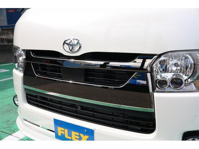 スーパーGL ダークプライムII 4WD/パーキングサポート/1.15インチエローダウンブロック/フレックスオリジナルデルフ0217AW/フレックスオリジナルフロントリップ/オーバーフェンダー/7インチフルセグSDナビ/ガッツミラ同色(72枚目)
