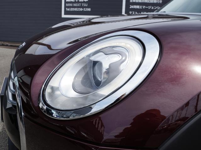 クーパーD クラブマン ナビ ETC LEDヘッドライト リアカメラ PDC後 コンフォート ACC 軽減ブレーキ SOSコール(22枚目)