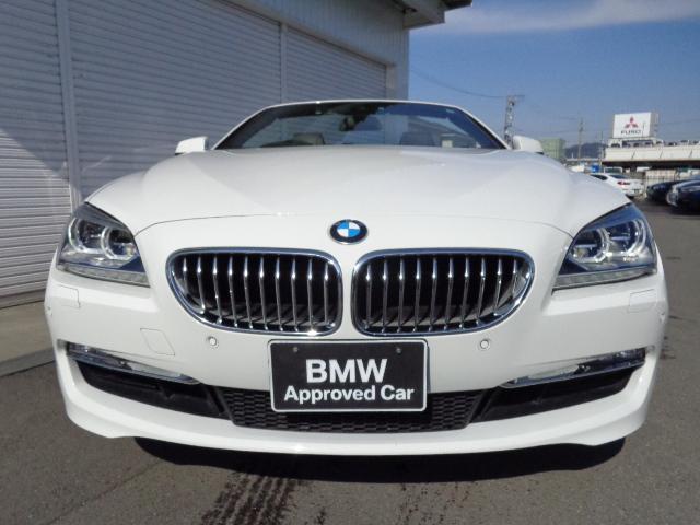 BMW BMW 650iカブリオレ 1年AC1オナ禁煙認定車
