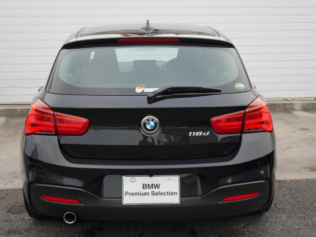 BMW BMW 118d Mスポーツ 2年BPSデモ禁煙認定車