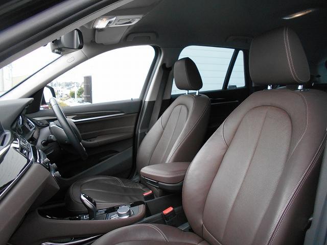 sDrive 18i xライン 18AW茶レザー衝突軽減地デジPDCコンフォートpkgETC 1年AC1オーナー禁煙認定車(11枚目)