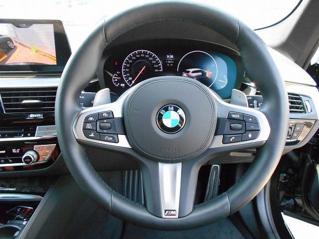 530iツーリング Mスポーツ 19AW黒革ウッドPヘッドUPディスプレイACCデモカー認定中古車(9枚目)