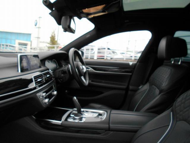 750i Mスポーツ 20AWリヤコンフォートPKG黒革リヤモニターガラスサンルーフハーマンカードンHi-Fiドラレコ1オーナー認定中古車(23枚目)