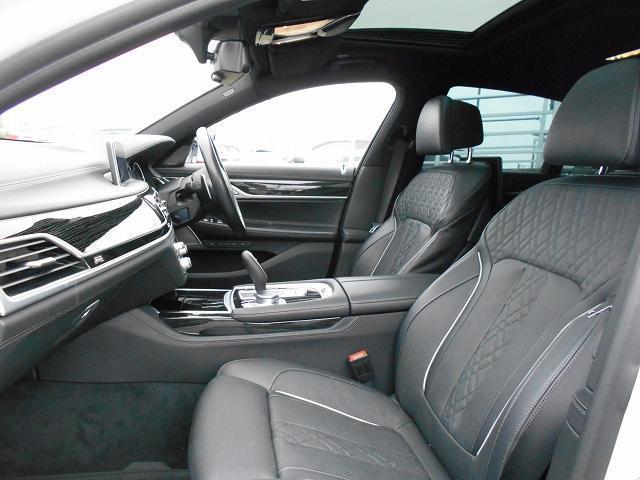 750i Mスポーツ 20AWリヤコンフォートPKG黒革リヤモニターガラスサンルーフハーマンカードンHi-Fiドラレコ1オーナー認定中古車(24枚目)