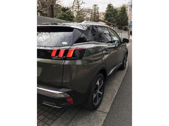 プジョー プジョー 3008 GT ブルーHDi サンルーフ付 登録済未使用車