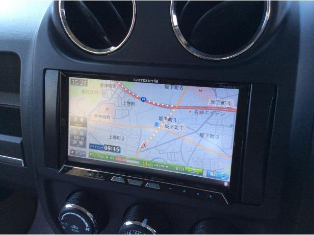 クライスラー・ジープ クライスラージープ パトリオット リミテッド 4WD レザーシート HDDナビ ETC