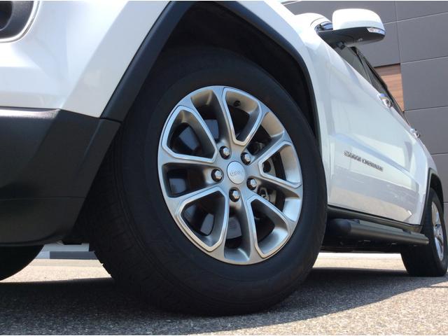 クライスラー・ジープ クライスラージープ グランドチェロキー リミテッド 自社ユーザー買取 サイドステップ