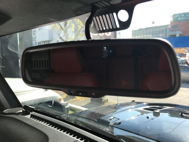 ルビコン ハードロック 赤レザーシート 認定中古車保証(11枚目)