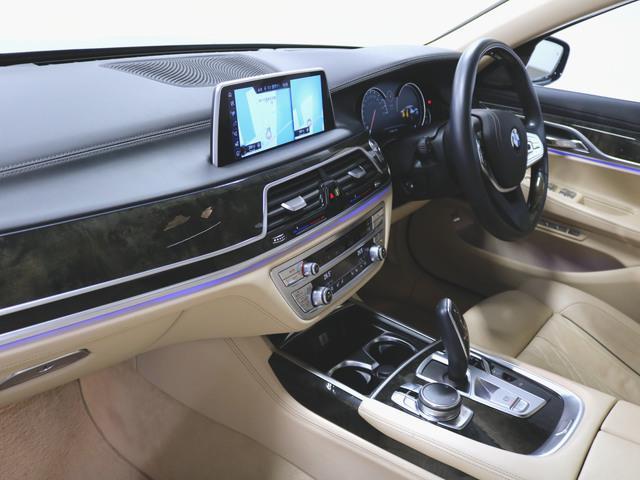 740i 本革 シートヒーター シートエアコン パワーシート フロアマット HDDナビ マルチ CD ミュージックサーバー 音楽プレーヤー接続 Bluetooth接続 フルセグ DVD再生 ETC(4枚目)