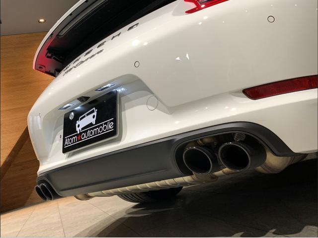 911カレラ 2018yモデル・スポーツクロノ・スポーツテールパイプ(59枚目)