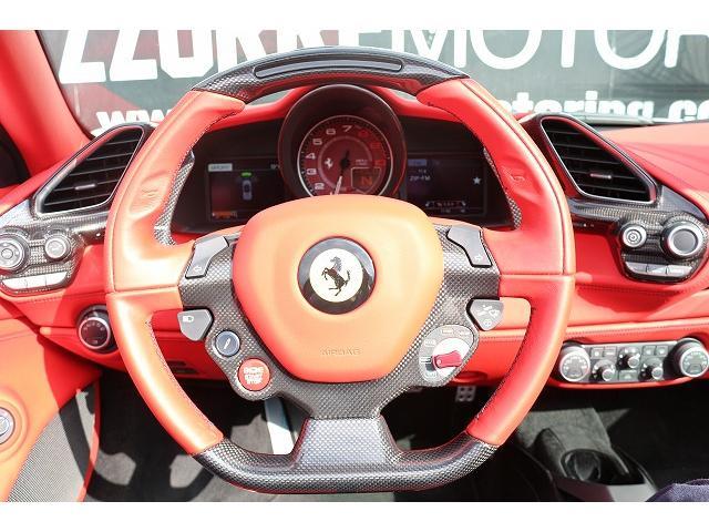 フェラーリ フェラーリ 488スパイダー D車 鍛造AW FIエキゾースト可変マフラー カーボンPKG